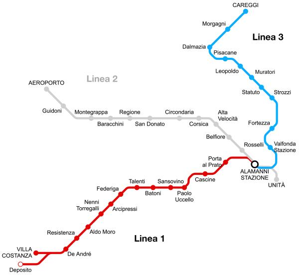 Mappa L1-L3
