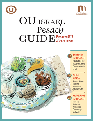 PDF OU Israel Guide to Passover