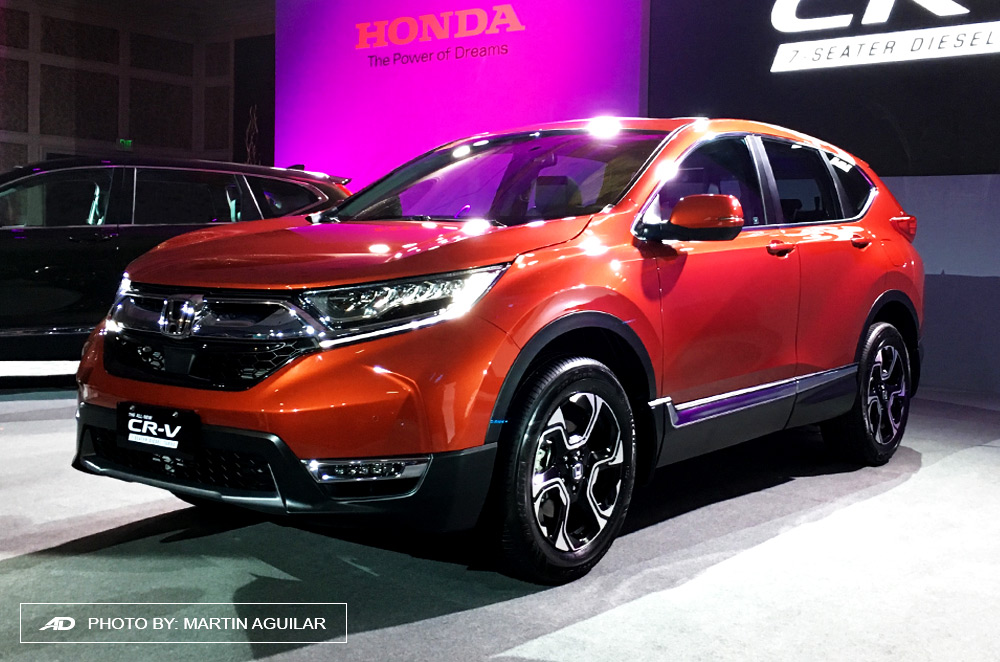 All New Honda CR V Diesel Now Available In PH Autodeal