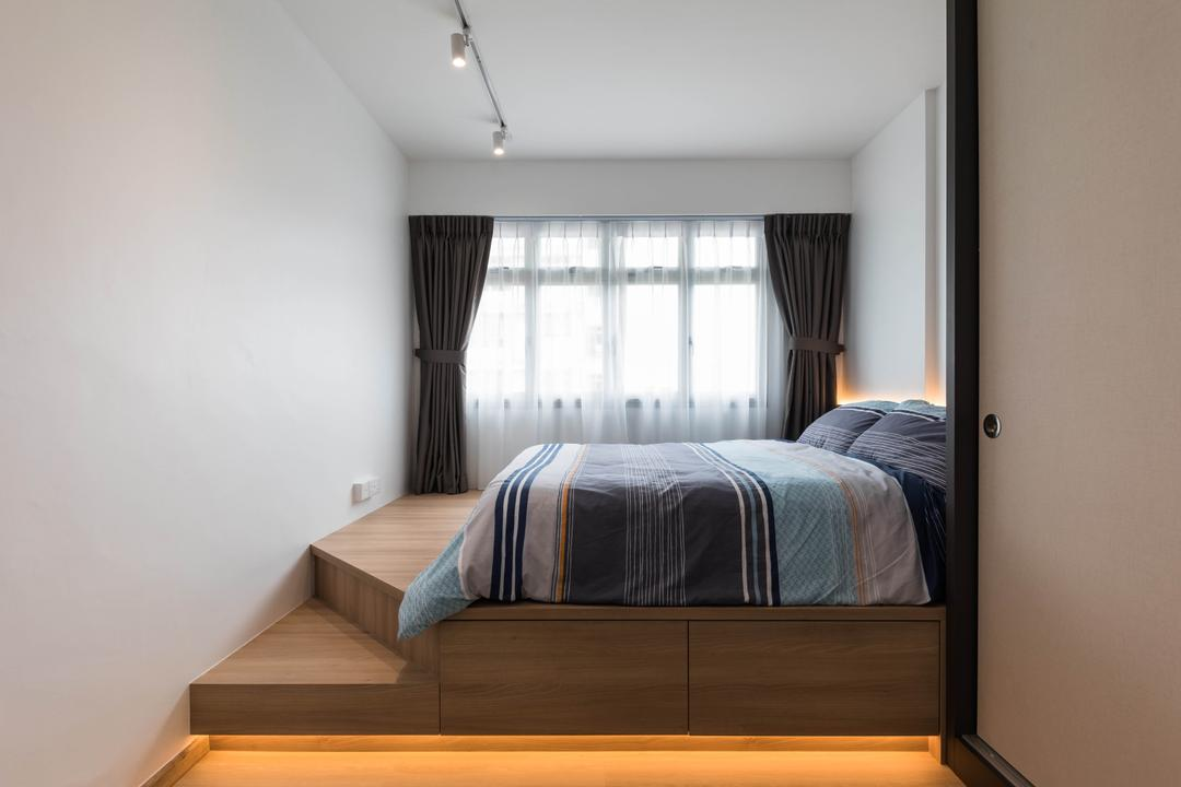 platform bed interior design