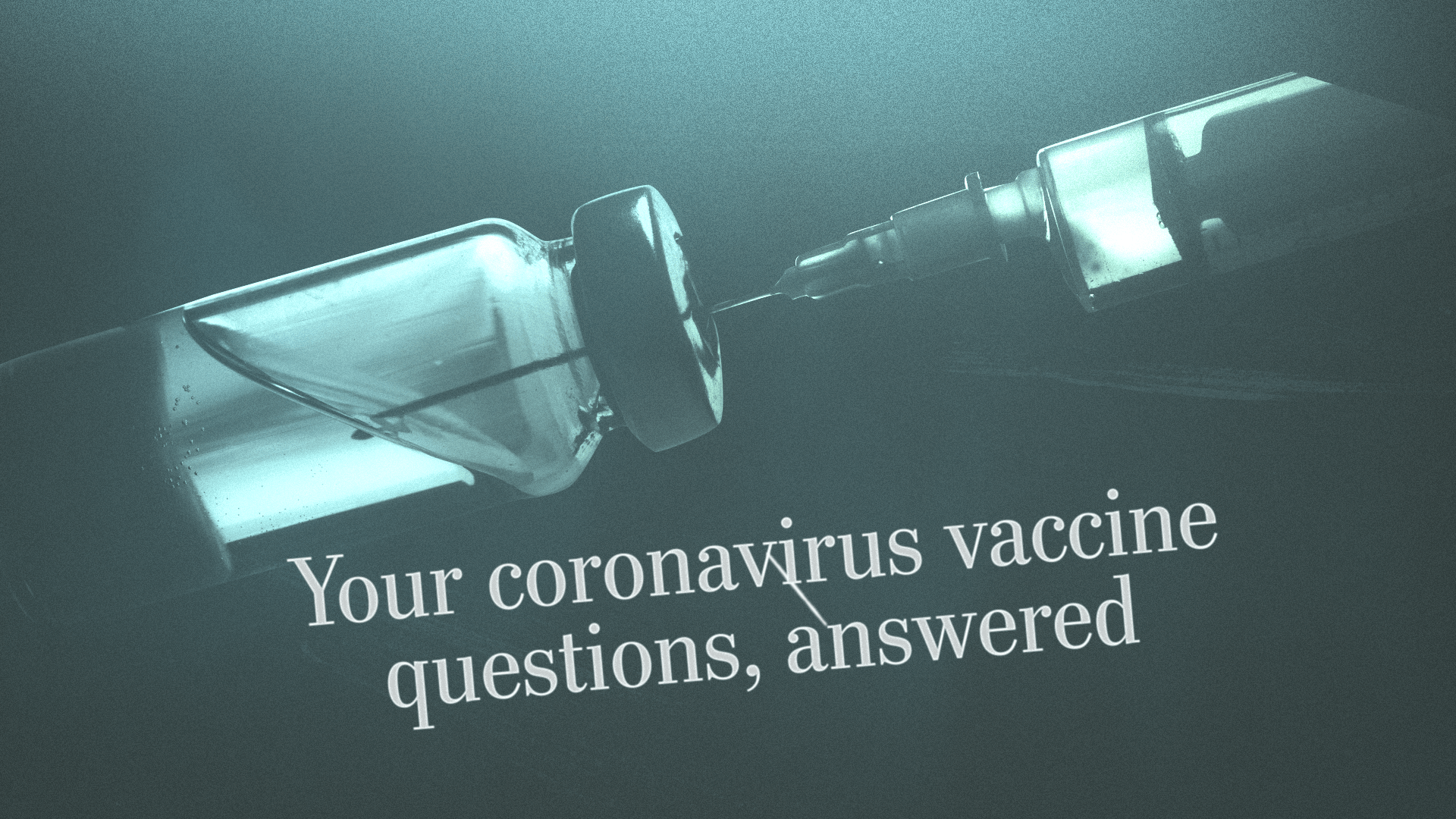 your coronavirus vaccine questions answered