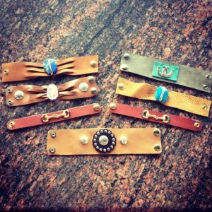 Hermosa Jewelry Leather Wraps