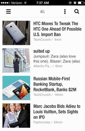 Feedly App | Blue Mountain Belle
