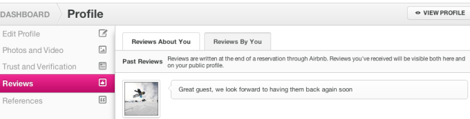 Airbnb Review of Host & Guest