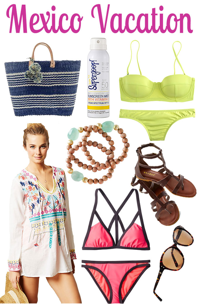 What To Pack For Your Trip To Mexcio | Blue Mountain Belle