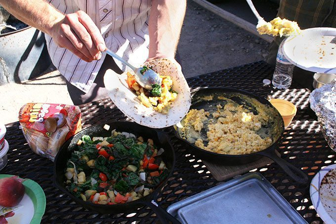 Camp Cooking | Blue Mountain Belle