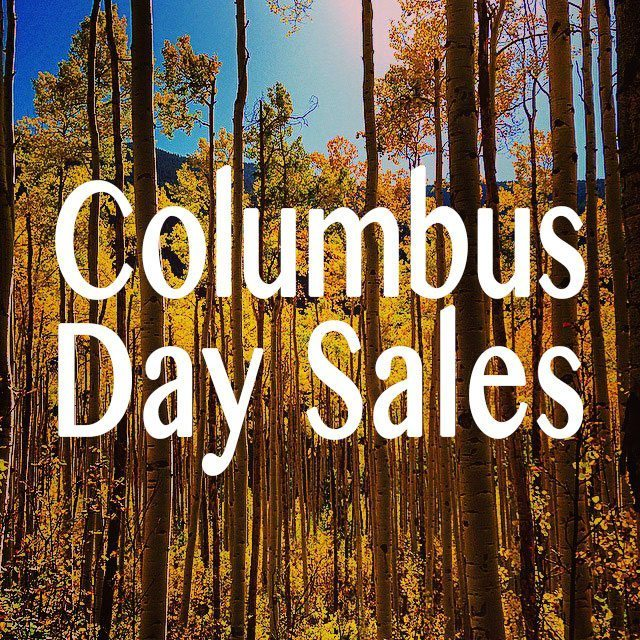 Columbus Day Sales