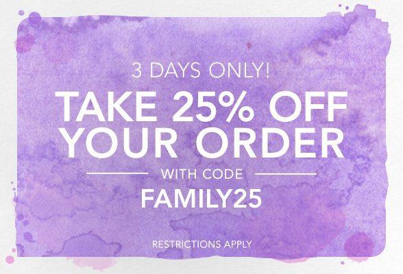Shopbop Friends & Family Sale