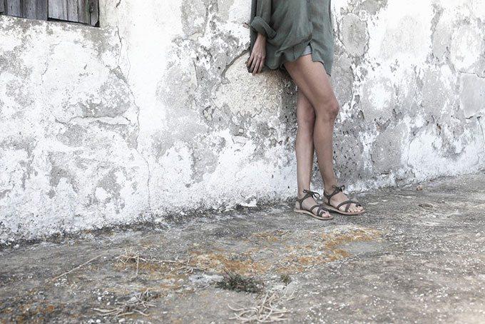 Valia Gabriel Sandals | Blue Mountain Belle