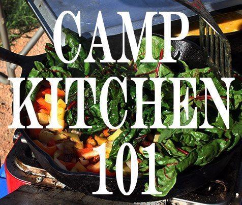 Camp Kitchen 101   Blue Mountain Belle