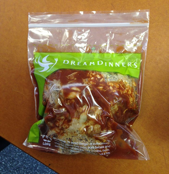 Dream Dinners Review  Blue Mountain Belle