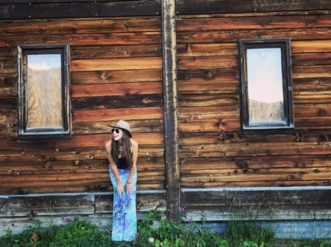 Watercolor skirts and Sunsets, Crested Butte Colorado | Blue Mountain Belle