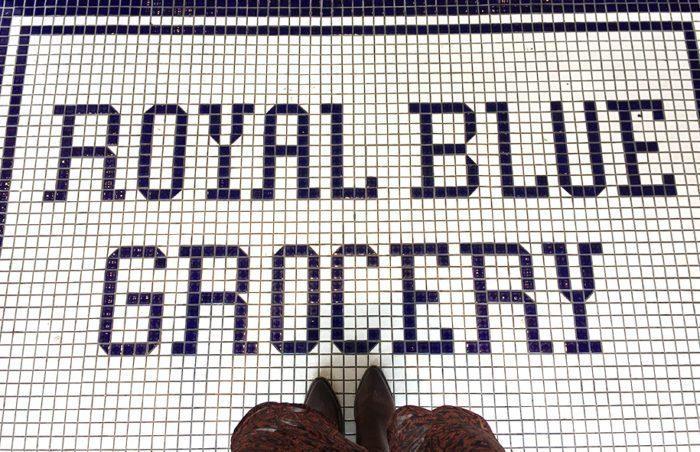 Royal Blue Grocery in Highland Park Village | Blue Mountain Belle