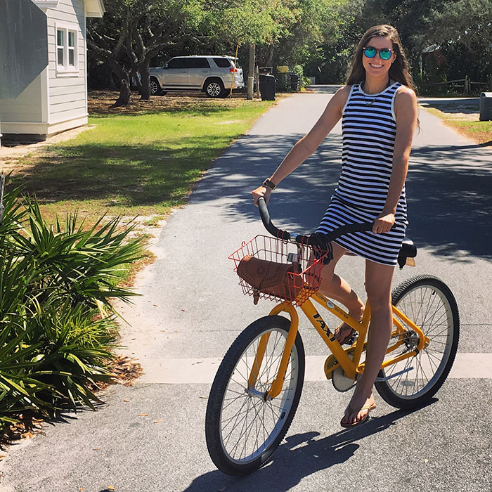 Nation LTD Beatrice Dress at the beach | Blue Mountain Belle