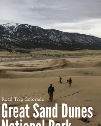 Road Trip Colorado - Great Sand Dunes National Park, Where to camp and what to do