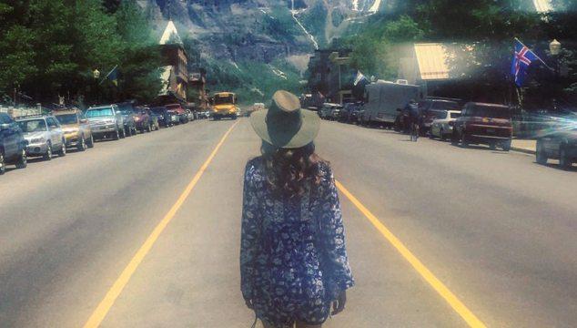 Walking to Telluride Bluegrass