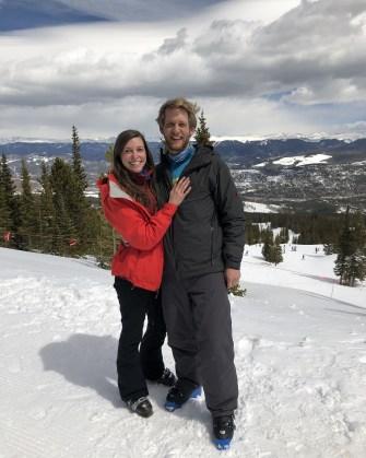 Breckenridge Engagement | Blue Mountain Belle