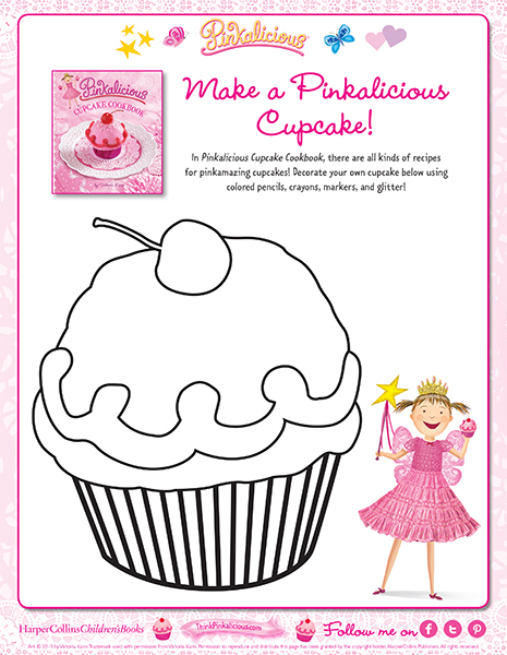 pinkalicious coloring pages # 48