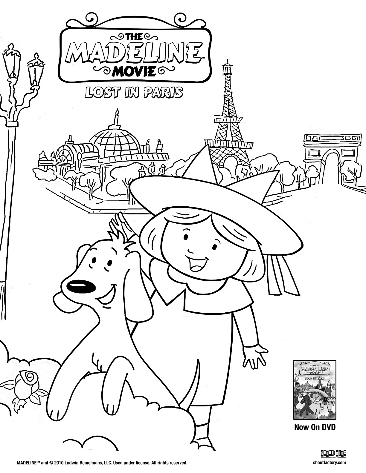 Win The Madeline Movie Lost In Paris