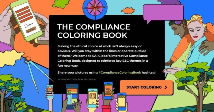 Compliance, Listening to your customer to Innovate: An adult coloring book for the Compliance Officer, Pitch.Link, Pitch.Link