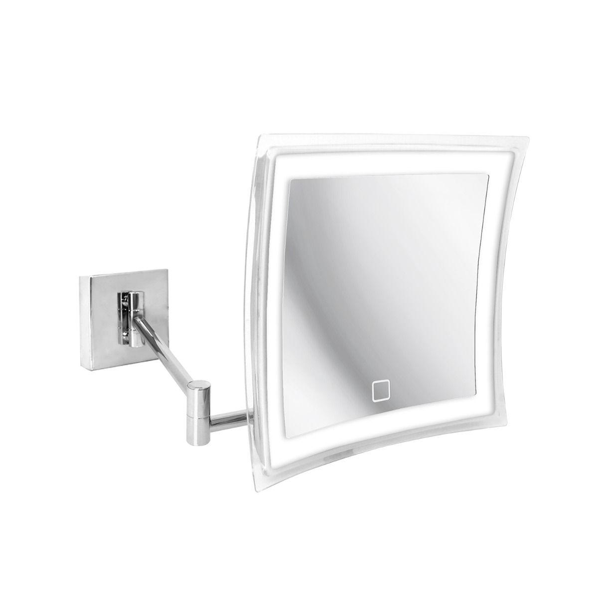 Beauty Touch Sensor Wall Mounted Led Magnifying Makeup Mirror 5x Modo Bath