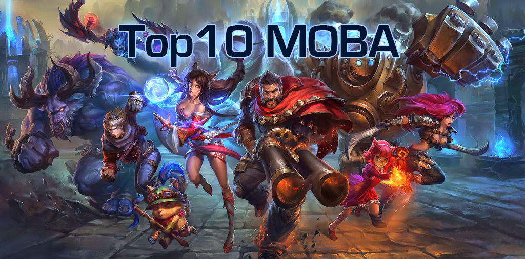 Top 10 MOBA Games For 2016 Updated List Kill Ping