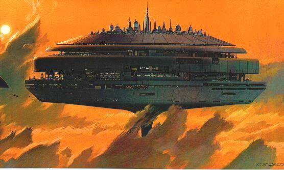 Ciudad de las Nubes de Bespin, de Stars Wars