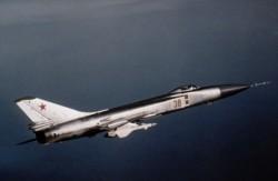 El Sukhoi Su-15 aviones de combate (Wikipedia Commons)