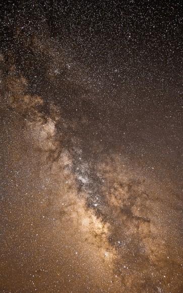 El ganador de la joven fotógrafo Astronomía del año 2013 es Jacob Marchio: La Galaxia de la Vía Láctea.  Crédito y copyright: Jacob Marchio.