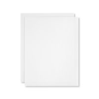 White Vellum A4 Card Stock
