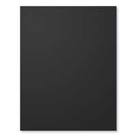 Basic Black A4 Card Stock