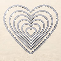 Hearts Collection Framelits Die