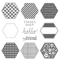 Six-Sided Sampler Clear Stamp Set