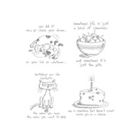 Giggle Greetings Clear Stamp Set
