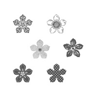 Petite Petals Clear Stamp Set
