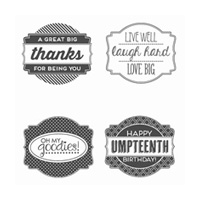 Oh My Goodies Clear-Mount Stamp Set