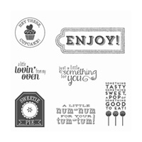Num-Num Clear-Mount Stamp Set