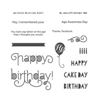 Age Awareness Photopolymer Stamp Set