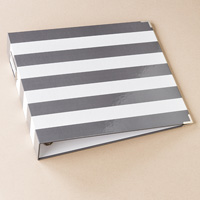 """Striped 12"""" X 12"""" Project Life Printed Album"""