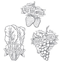 Market Fresh Clear-Mount Stamp Set