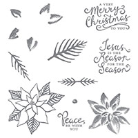 Reason For The Season Photopolymer Stamp Set