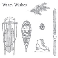 Winter Wishes Clear-Mount Stamp Set