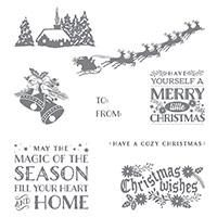 Cozy Christmas Clear-Mount Stamp Set