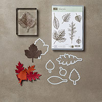 Vintage Leaves Photopolymer Bundle