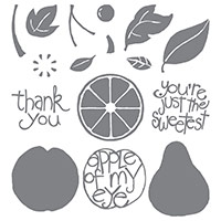 Apple Of My Eye Photopolymer Stamp Set