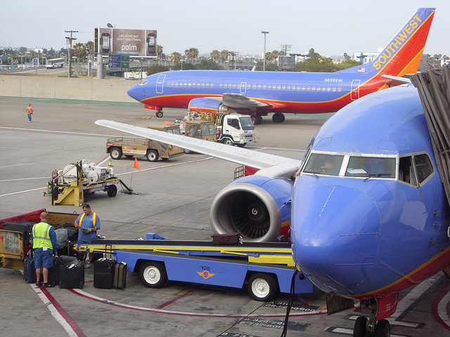 Southwest Airlines Lost Baggage