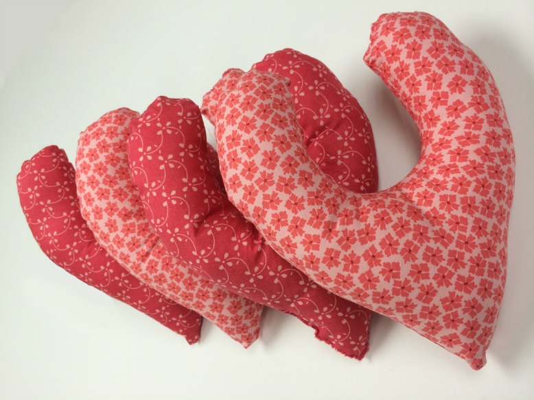 hands on heart breast cancer pillow