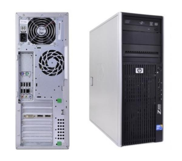 Ordinateurs De Bureau HP Workstation Z400 W3520