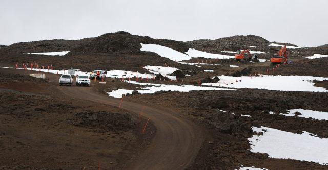 TMT Mauna Kea overall site. 9 april 2015. photograph Cory Lum/Civil Beat