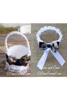 Camo Guest Book And Pens Camouflage Prom Wedding